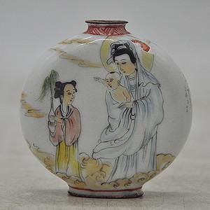 古月轩珐琅彩鼻烟壶