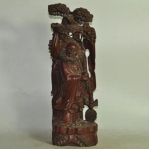 木雕罗汉像