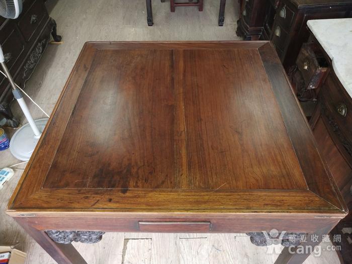 红酸枝方桌图3