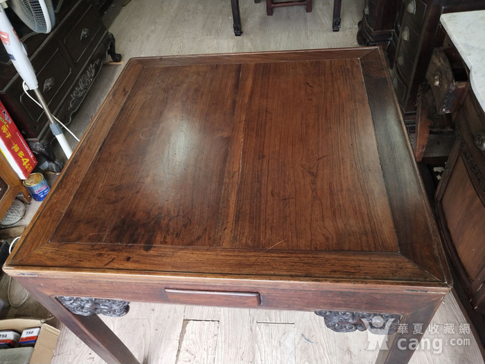 红酸枝方桌图2