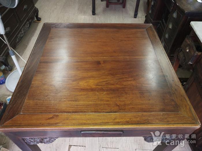 红酸枝方桌图7