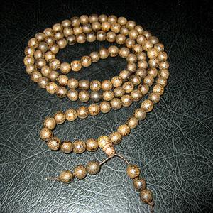 越南高品质沉香108佛珠