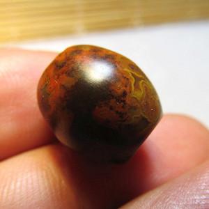 开门到代 晚清时期 极为经典的老坑 雨花石玛瑙 橄榄珠