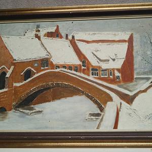 no.12 雪中的房子