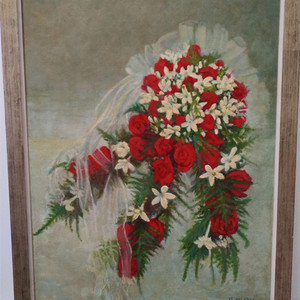 婚礼上的花束