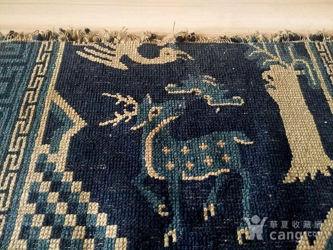 清代织毯图3