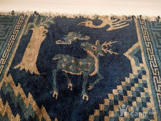 清代织毯图1