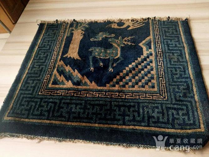 清代织毯图2