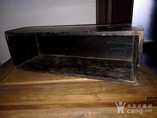 清代漆画木盒图3