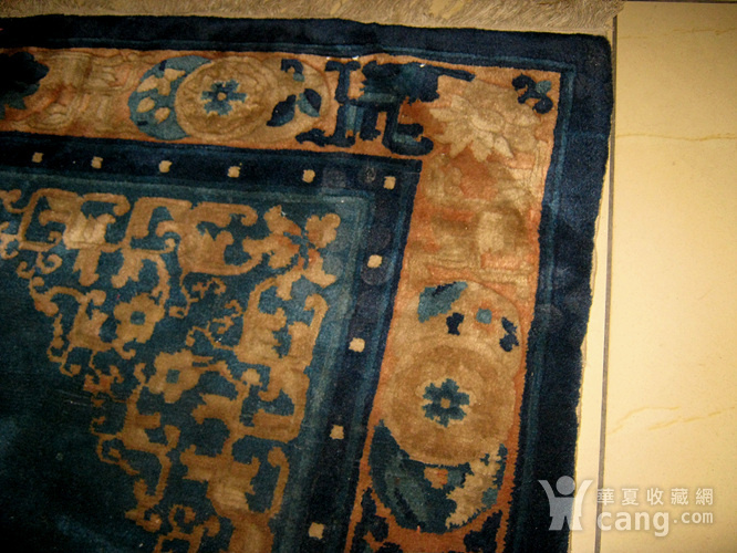 清代老地毯图6
