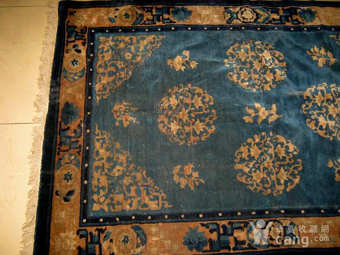 清代老地毯图9