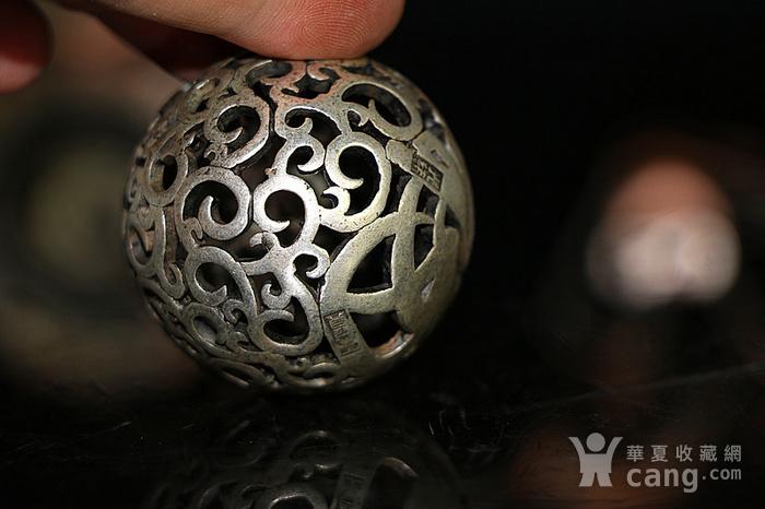 福寿光绪款天宝足银镂雕图7