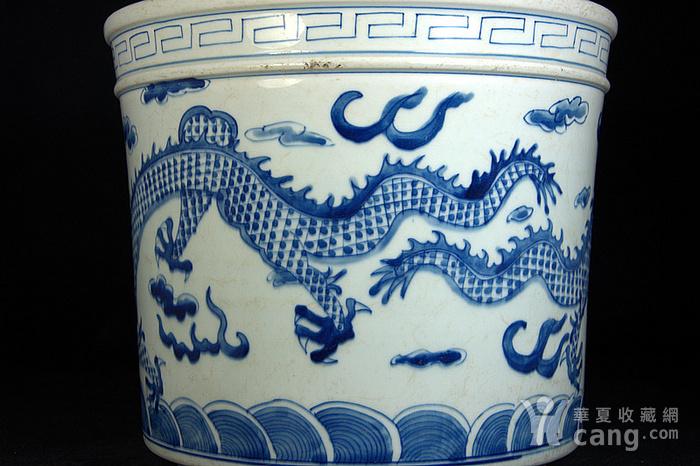 清代同治纪年款双龙戏珠大炉图5