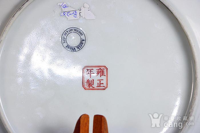 民国官仿雍正官窑西厢记对盘 已鉴定图6