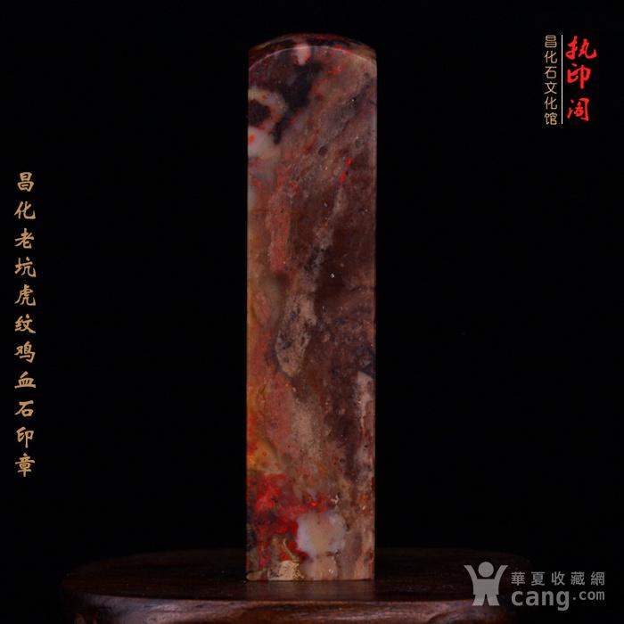 昌化老坑hu纹鸡血石印图7