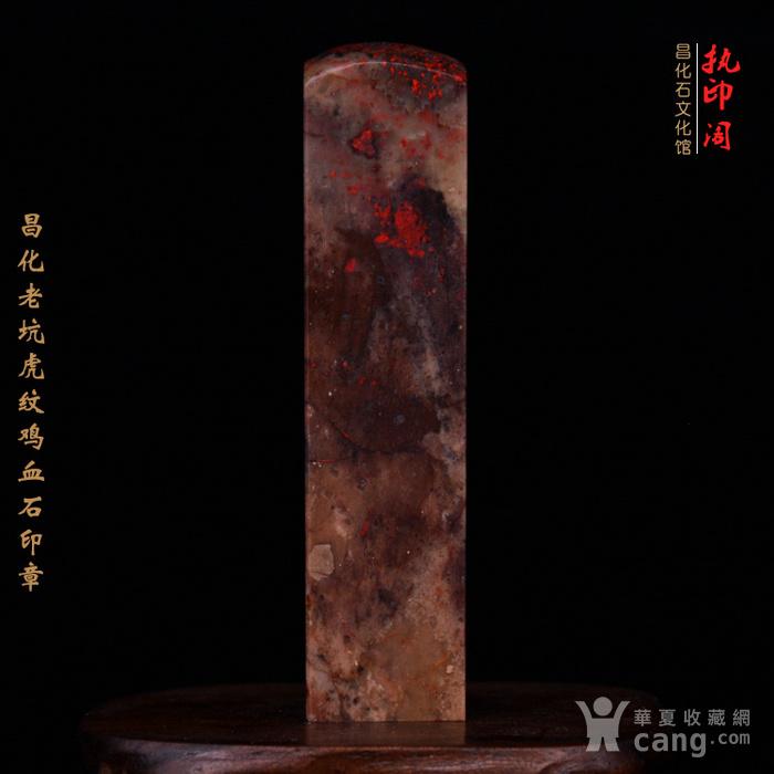 昌化老坑hu纹鸡血石印图5