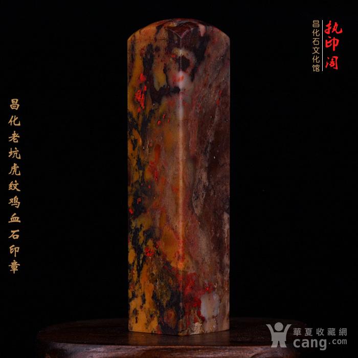 昌化老坑hu纹鸡血石印图8