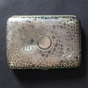 8116欧洲回流老合成银烟盒