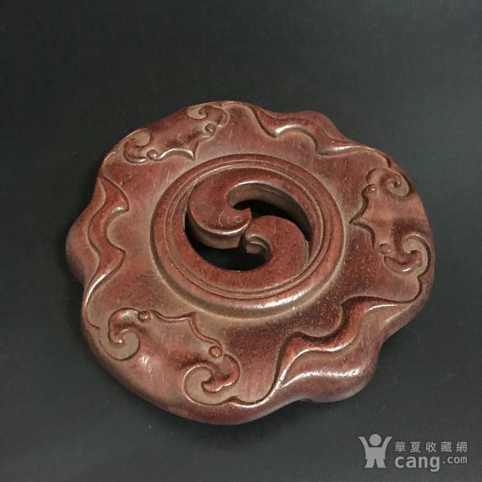 黄花梨香炉座图3