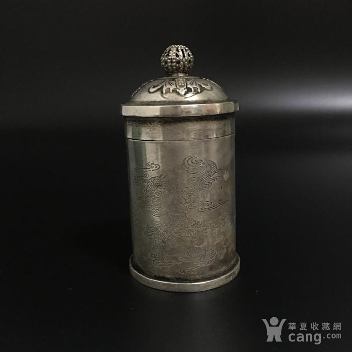 纯银烟盒图2