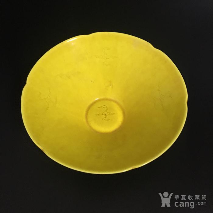 黄釉碗图2