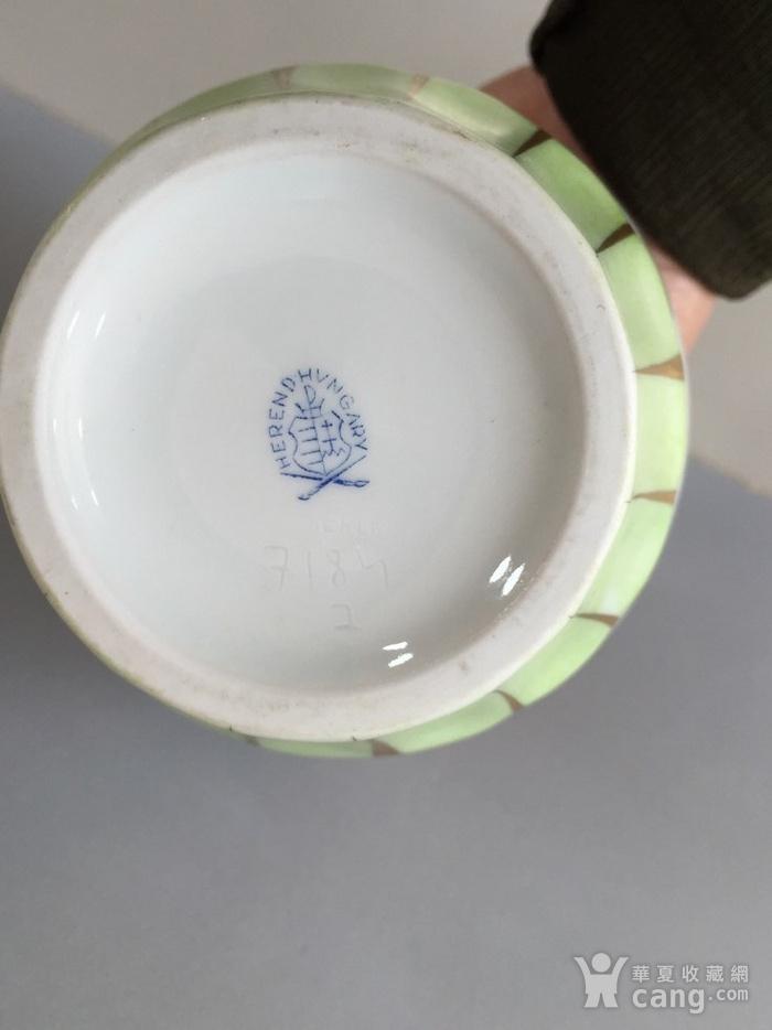 7048 欧洲名瓷海蓝德尊瓶图9