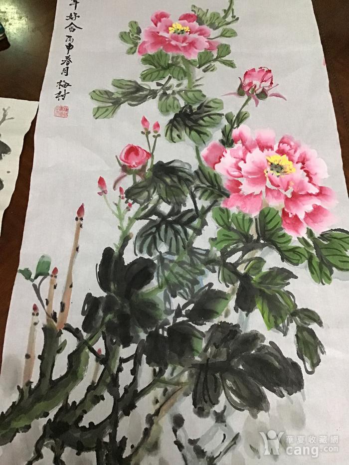 海派老画家梅村图4