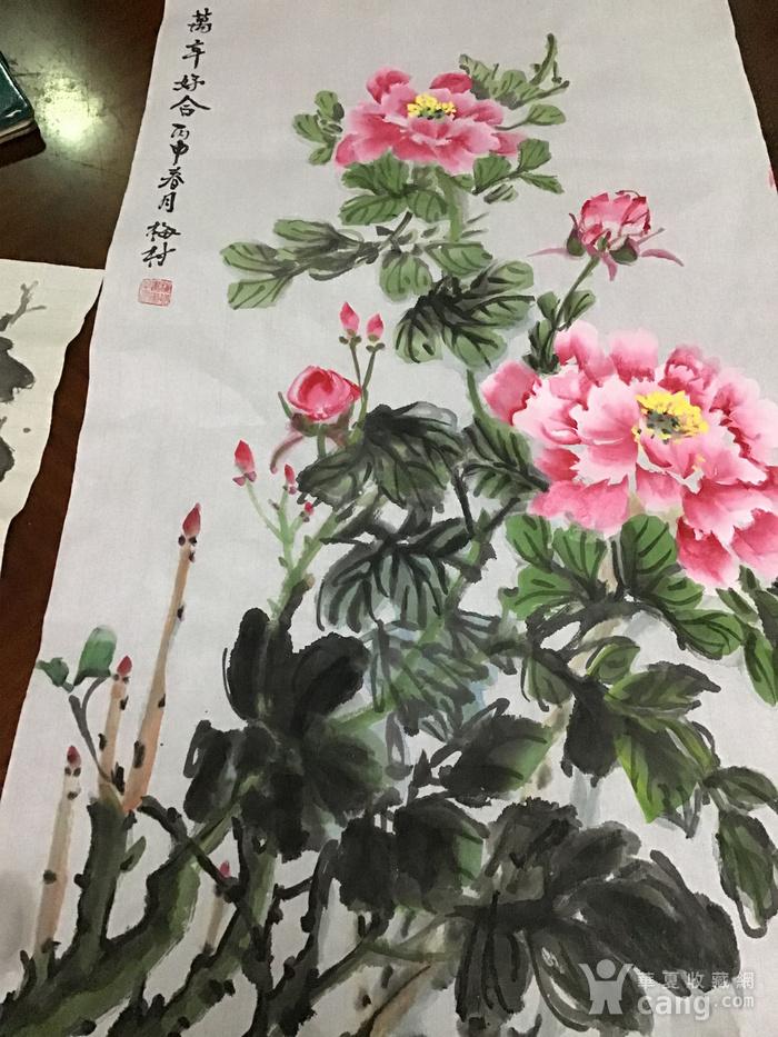 海派老画家梅村图5