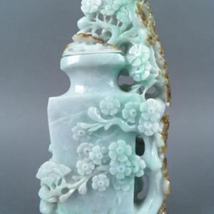 民国翡翠花瓶