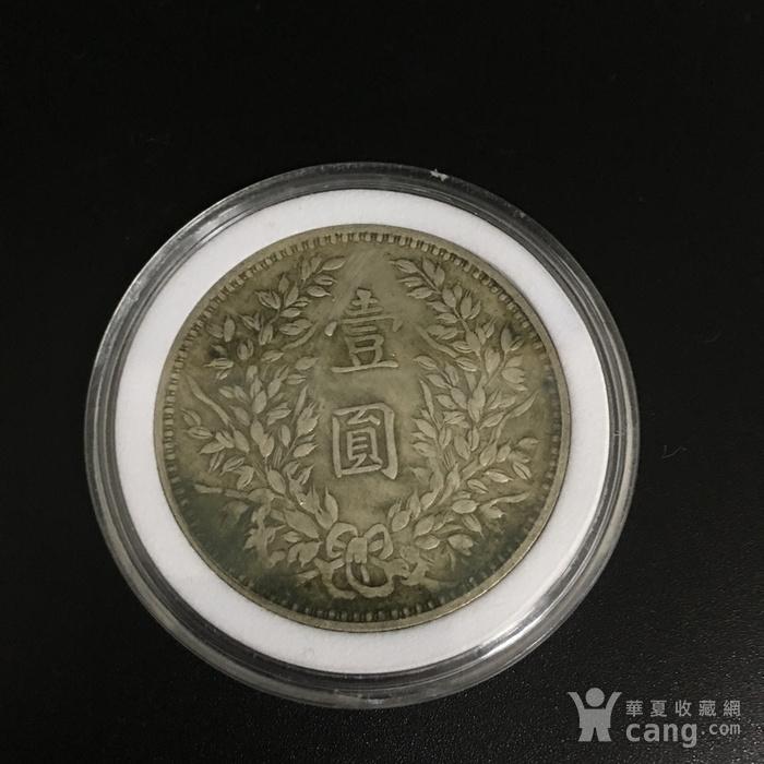 纯银银币 甘肃 图2