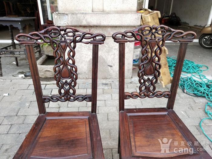 一对非常漂亮的灯笼腿椅子图2