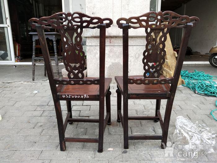 一对非常漂亮的灯笼腿椅子图5