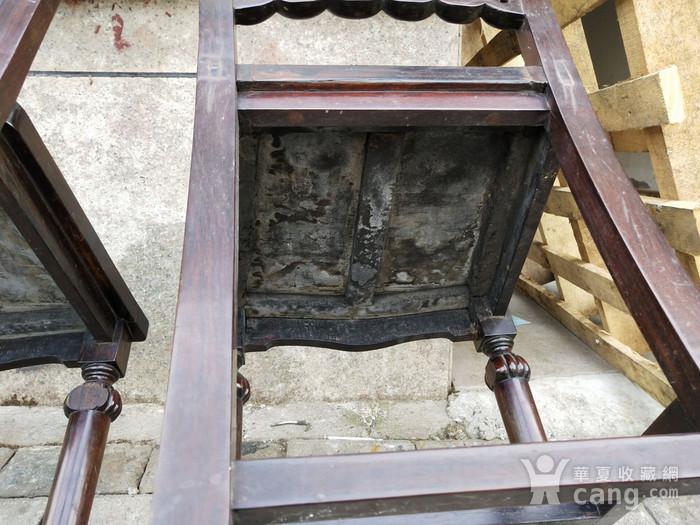 一对非常漂亮的灯笼腿椅子图7
