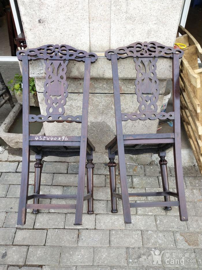 一对非常漂亮的灯笼腿椅子图8