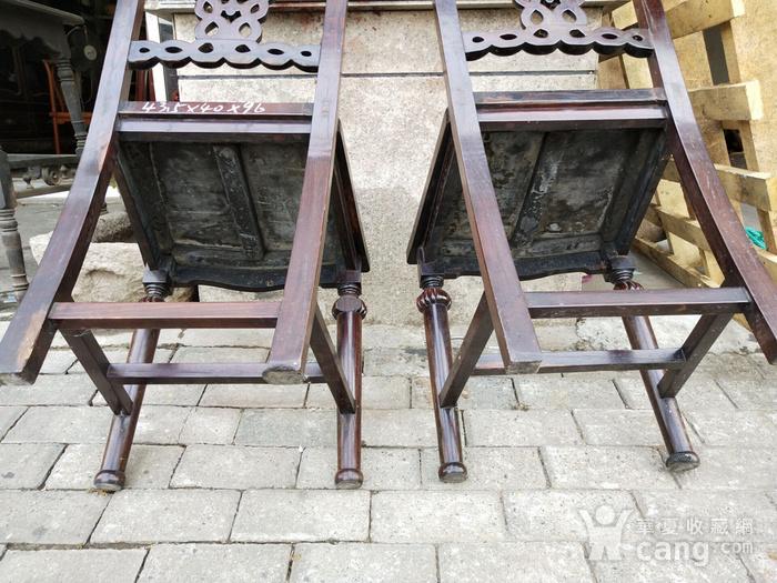 一对非常漂亮的灯笼腿椅子图9
