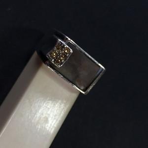 8014欧洲回流老银嵌螺钿戒指