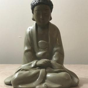 7006 石湾窑释迦摩尼像