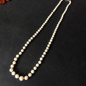 8078欧洲回流意大利海水珍珠项链