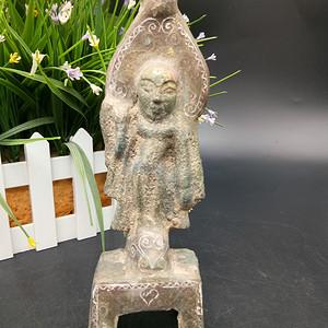 铜佛像摆件