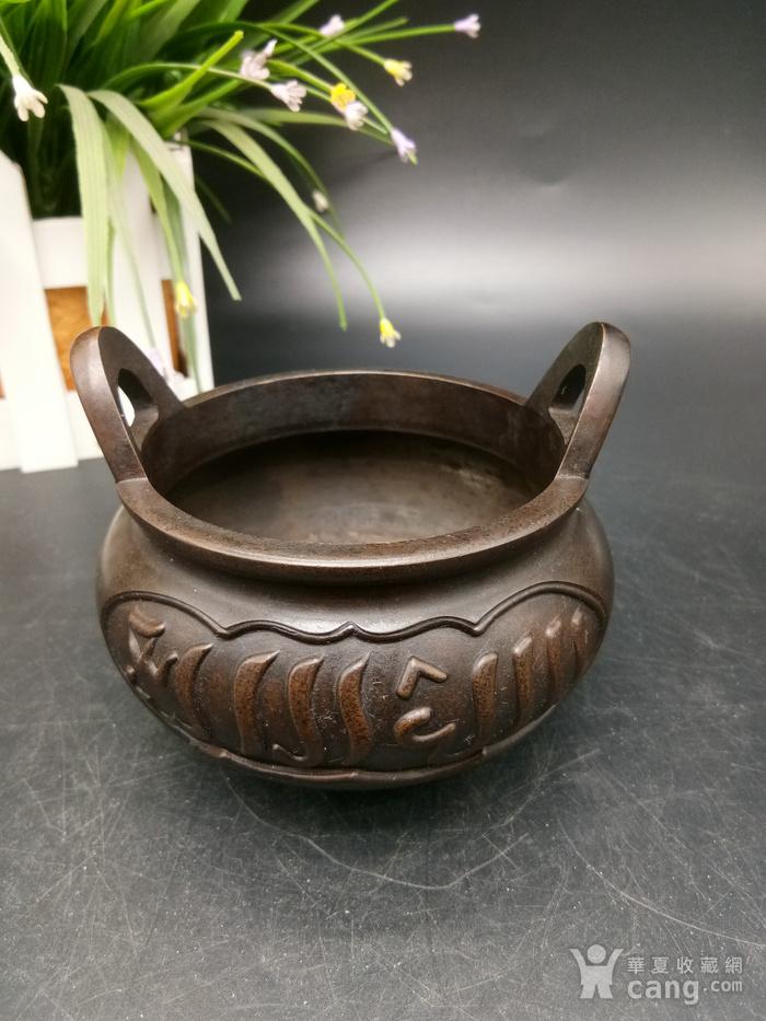 清精致铜香炉图3