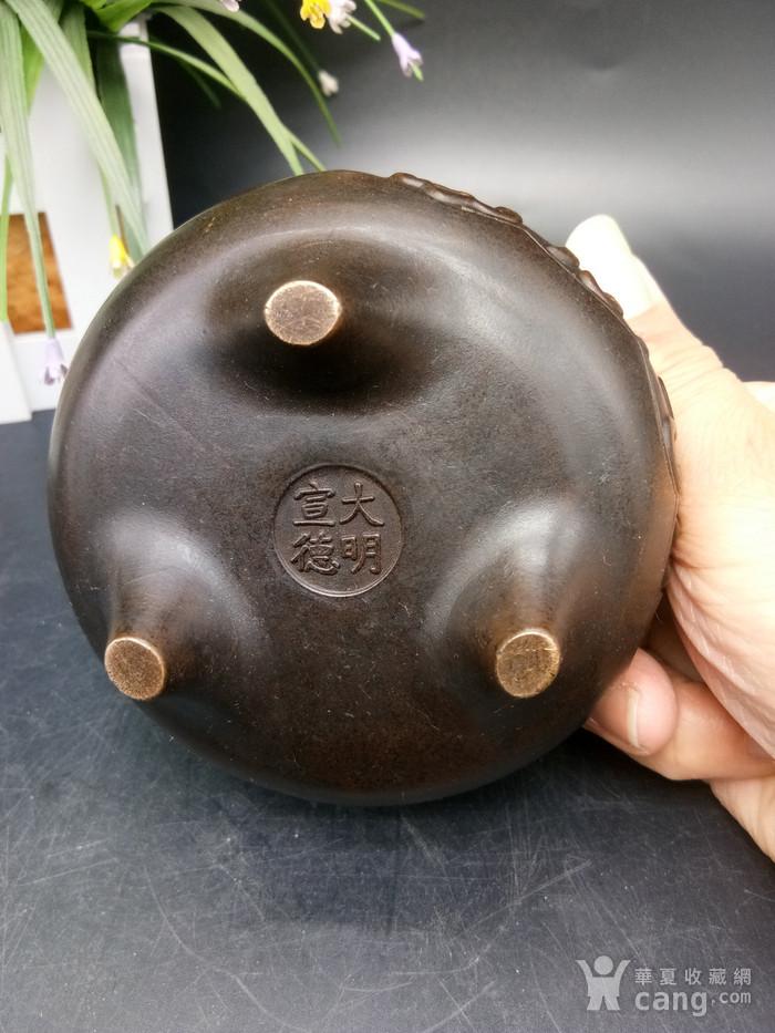 清精致铜香炉图6