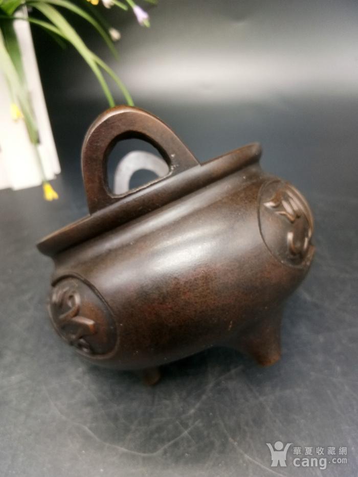 清精致铜香炉图8