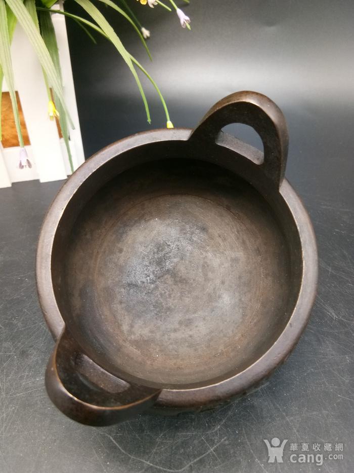 清精致铜香炉图9
