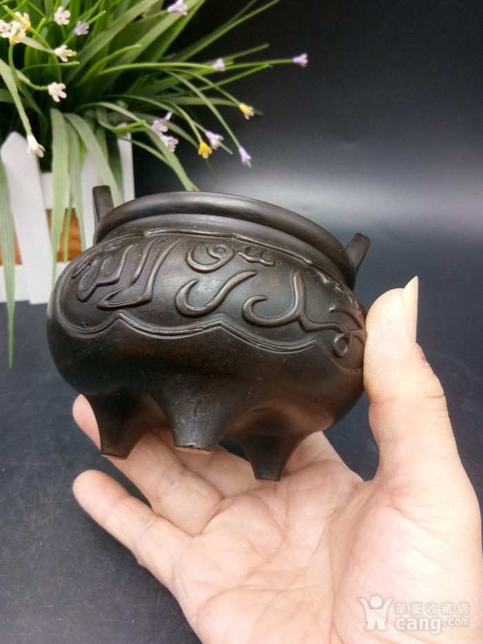 清精致铜香炉图10