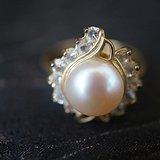 欧洲天然珍珠镶水