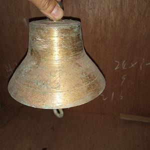 民国老铜钟一个