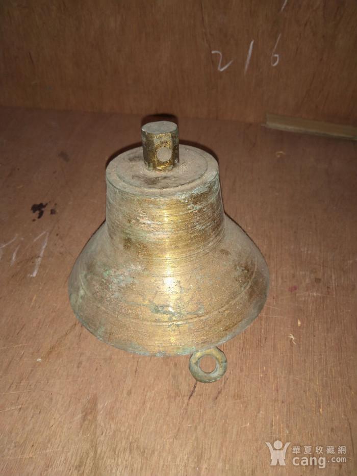 民国老铜钟一个图4