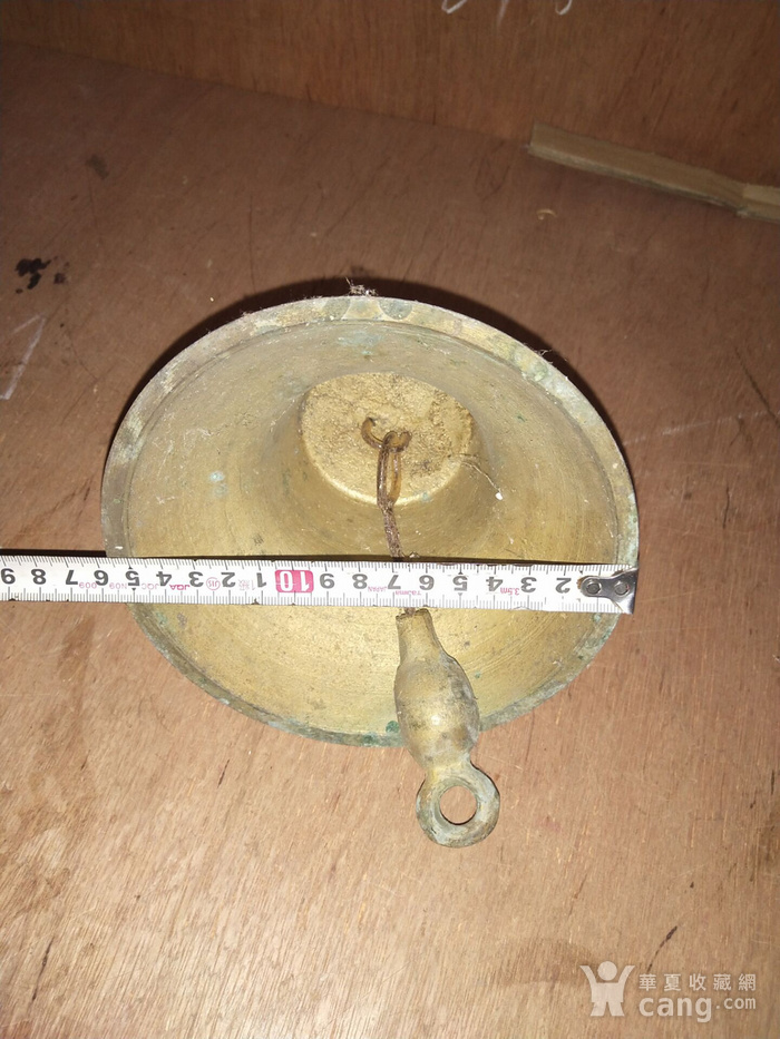 民国老铜钟一个图5