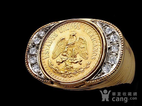 鹰币式大戒指图1