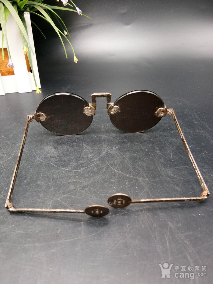 清至民国天然水晶养眼眼镜图6